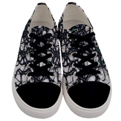 Mindset Neuroscience Thoughts Men s Low Top Canvas Sneakers