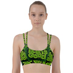 Motivation Live Courage Enjoy Life Line Them Up Sports Bra