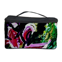 Lilac And Lillies 3 Cosmetic Storage Case by bestdesignintheworld