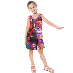 Depression 6 Kids  Sleeveless Dress