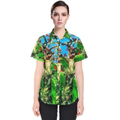 Coral Tree 2 Women s Short Sleeve Shirt
