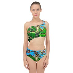 Coral Tree 2 Spliced Up Two Piece Swimsuit
