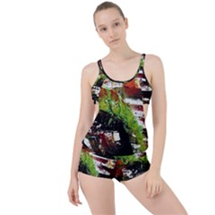Collosium   Swards And Helmets 3 Boyleg Tankini Set