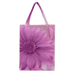 Flower Design Romantic Classic Tote Bag