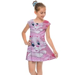 Love Celebration Gift Romantic Kids Cap Sleeve Dress