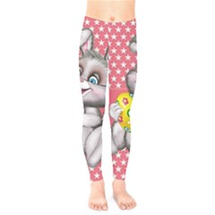 Illustration Rabbit Easter Kids  Legging