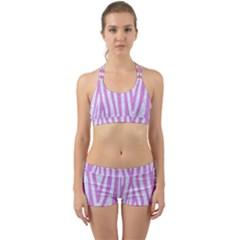 Skin4 White Marble & Purple Colored Pencil Back Web Gym Set