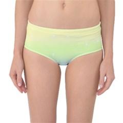 Pastelrainbowgalaxy Mid Waist Bikini Bottoms by RingoHanasaki