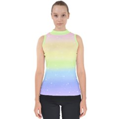 Pastelrainbowgalaxy Shell Top
