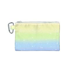 Pastelrainbowgalaxy Canvas Cosmetic Bag (small)