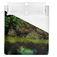 Hot Day In Dallas 33 Duvet Cover (queen Size)