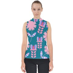 Flowers Shell Top