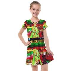 Farewell On The Shore 1 Kids  Cross Web Dress