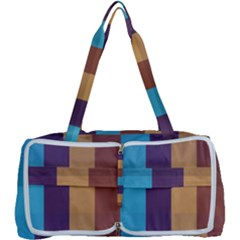 Background Desktop Squares Multi Function Bag