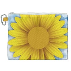 Plant Flower Flowers Bokeh Sky Canvas Cosmetic Bag (xxl) by Sapixe