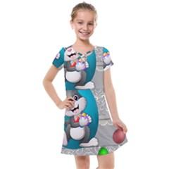 Illustration Celebration Easter Kids  Cross Web Dress