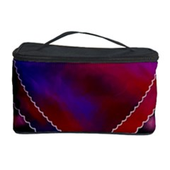 Background Texture Reason Heart Cosmetic Storage Case