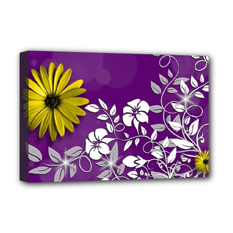 Background Bokeh Ornament Card Deluxe Canvas 18  X 12