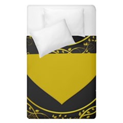 Background Heart Romantic Love Duvet Cover Double Side (single Size) by Sapixe