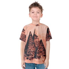 Pyramid Egypt Monumental Kids  Cotton Tee