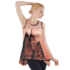 Pyramid Egypt Monumental Side Drop Tank Tunic by Sapixe