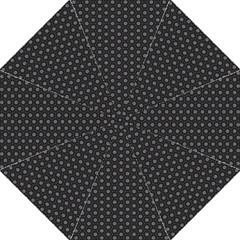 Geometric Pattern Dark Folding Umbrellas