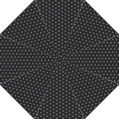 Geometric Pattern Dark Golf Umbrellas