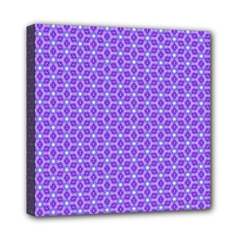 Lavender Tiles Mini Canvas 8  X 8