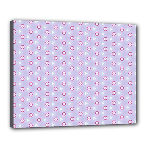 Light Tech Fruit Pattern Canvas 20  X 16