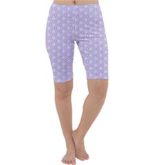 Light Tech Fruit Pattern Cropped Leggings