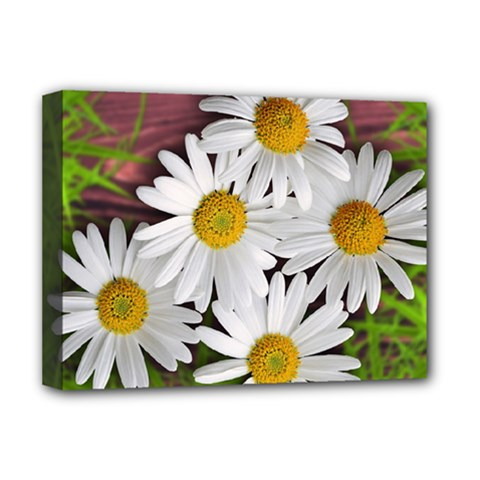 Flowers Flower Background Design Deluxe Canvas 16  X 12