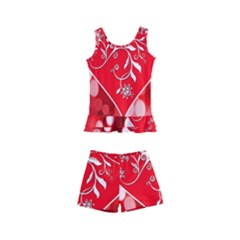 Love Romantic Greeting Celebration Kid s Boyleg Swimsuit