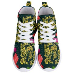 Background Reason Tulips Colors Women s Lightweight High Top Sneakers