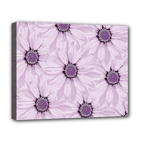 Background Desktop Flowers Lilac Deluxe Canvas 20  X 16   by Sapixe