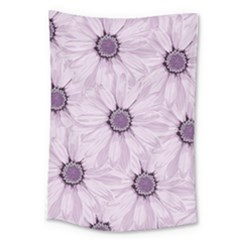 Background Desktop Flowers Lilac Large Tapestry by Sapixe