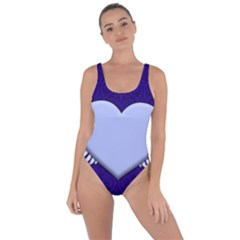 Background Texture Heart Wings Bring Sexy Back Swimsuit