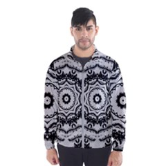 Abstract Pattern Fractal Windbreaker (men)