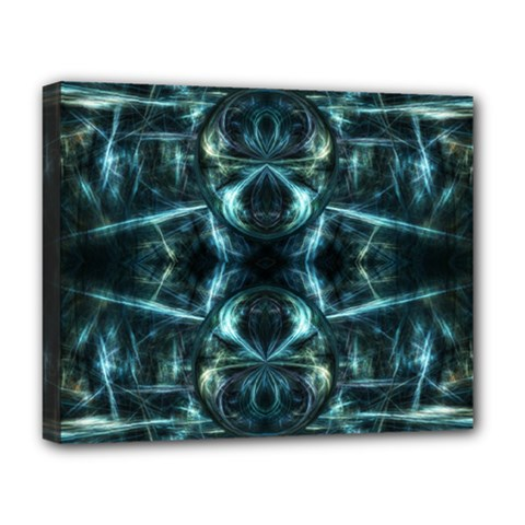Abstract Fractal Magical Deluxe Canvas 20  X 16
