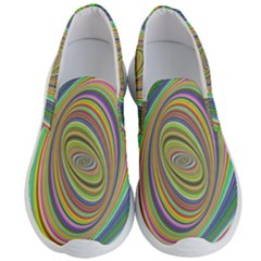 Ellipse Background Elliptical Men s Lightweight Slip Ons