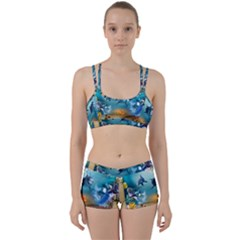 Dolphin Art Creation Natural Water Women s Sports Set