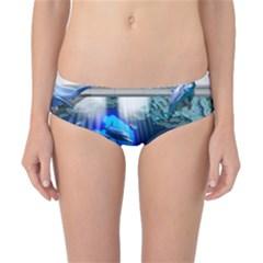 Dolphin Art Creation Natural Water Classic Bikini Bottoms