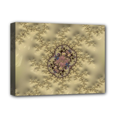 Fractal Art Colorful Pattern Deluxe Canvas 16  X 12