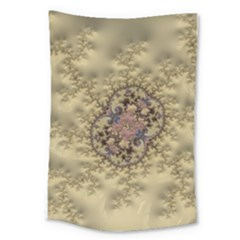 Fractal Art Colorful Pattern Large Tapestry