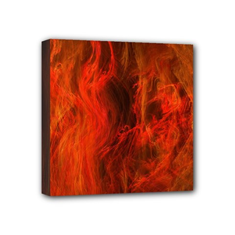 Fractal Abstract Background Physics Mini Canvas 4  X 4