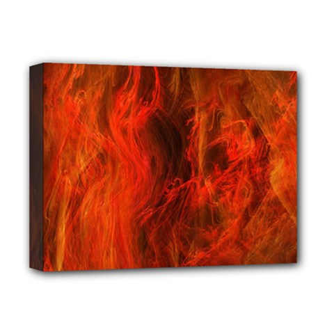 Fractal Abstract Background Physics Deluxe Canvas 16  X 12