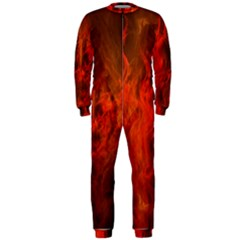 Fractal Abstract Background Physics Onepiece Jumpsuit (men)