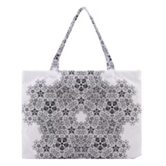 Fractal Background Foreground Medium Tote Bag