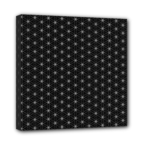 Shuriken Tech Dark Mini Canvas 8  X 8