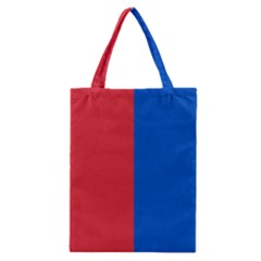 Red And Blue Classic Tote Bag by jumpercat