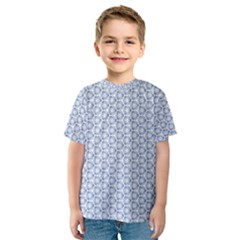 Abstract Ornament Tiles Kids  Sport Mesh Tee